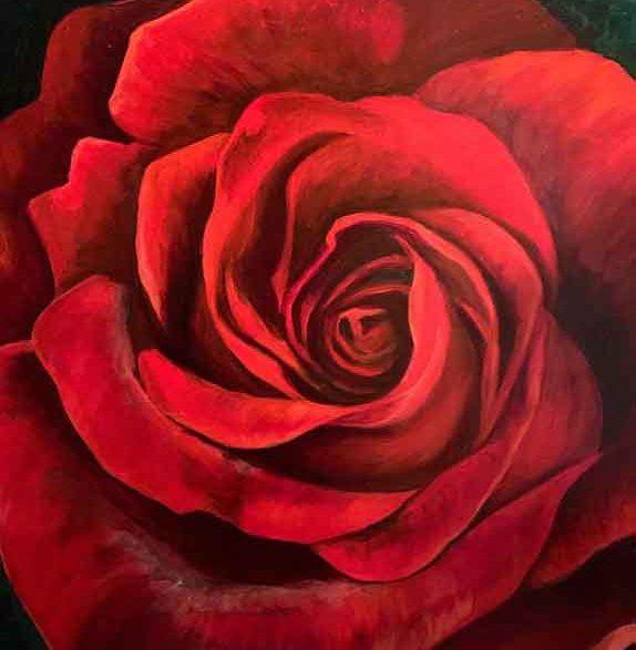 HTPB RED ROSE KATHY HEINTZELMAN GIBSON LAFFERTY