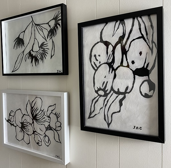 The Blooms Painting Drawing Series